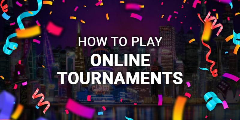 How to play tournaments logo; JackpotCity Casino Blog