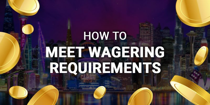 How-to meet wagering requirements at JackpotCity Casino